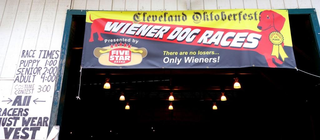Cleveland Oktoberfest Wiener Dog Races